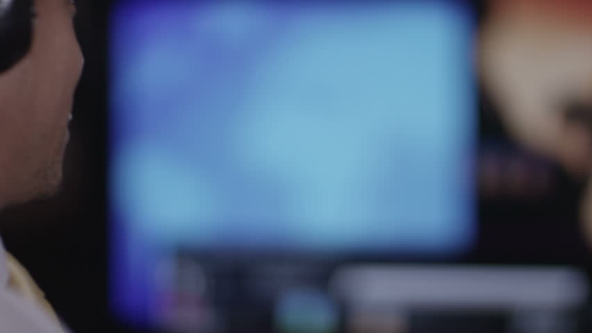 Man looking at CCTV   Shutterstock HD Video #6494795