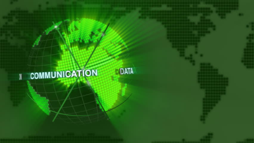 Digital Earth loop Loop of digital globe made of small dots. Background for (news) item symbolizing a modern world with data communication. | Shutterstock HD Video #651829