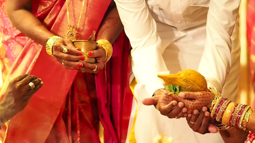Bride And Groom Holds Coconut Stock Footage Video 100 Royalty Free 6575201 Shutterstock