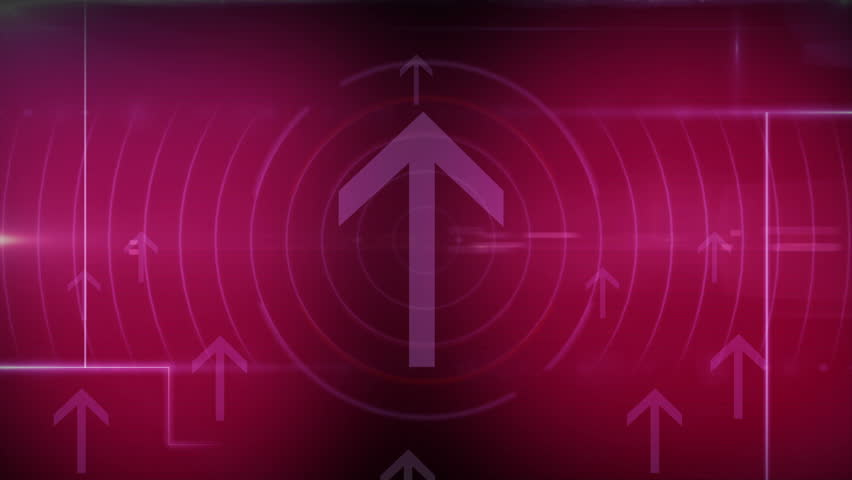 Abstract background arrow. movement of lines. square and rectangles intertwined. the back is moving beautiful. moving circles spinning.  | Shutterstock HD Video #6626969
