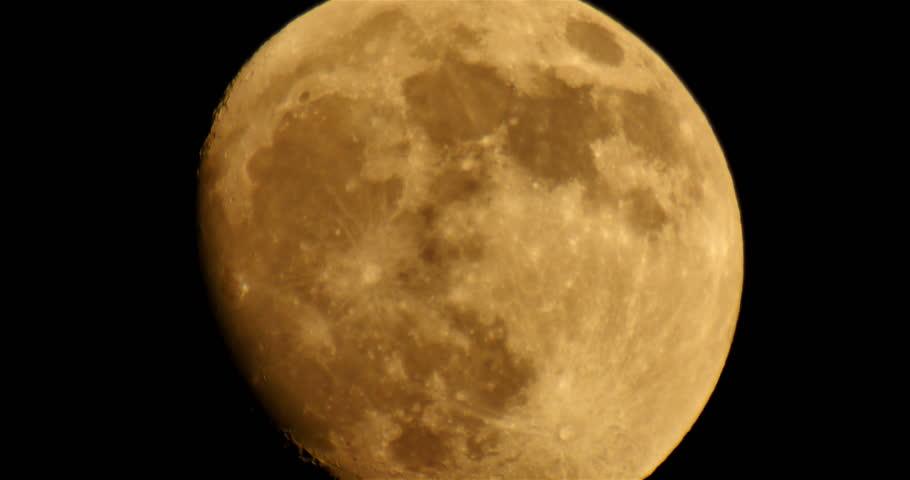 Moon LM01 Telescope Shot | Shutterstock HD Video #6659765