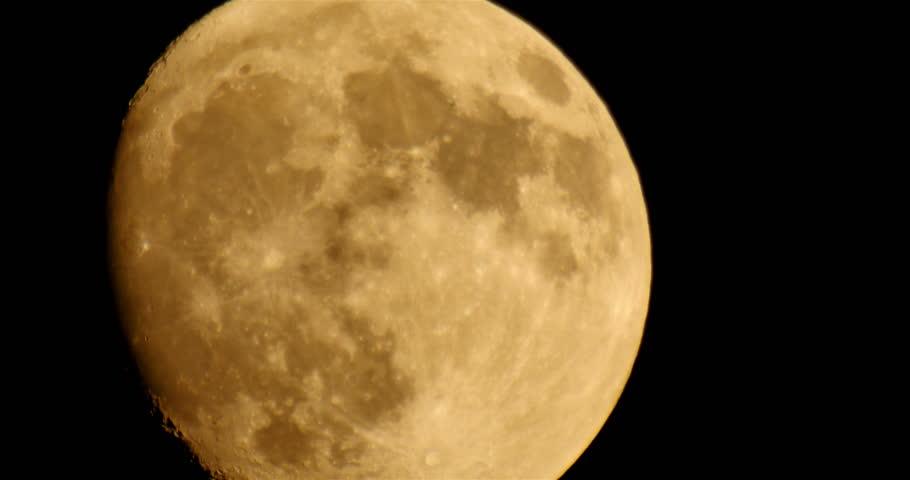 Moon LM07 Telescope Shot | Shutterstock HD Video #6659795