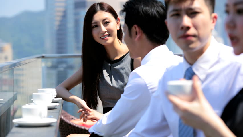 Group Young Male Female Asian Stock Footage Video (100% Royalty-free)  6677459 | Shutterstock
