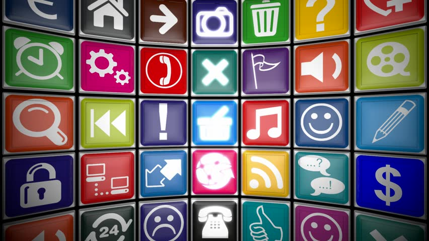 Loop-able mobile applications concept    Shutterstock HD Video #6710050