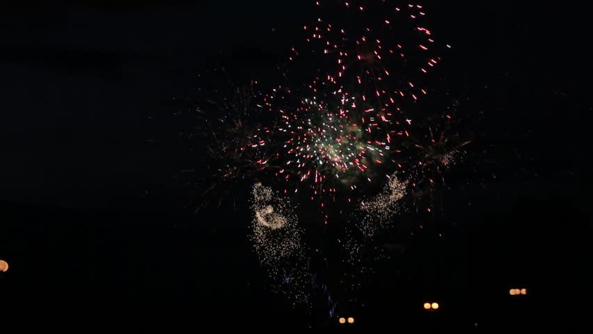 night Fireworks #6752044
