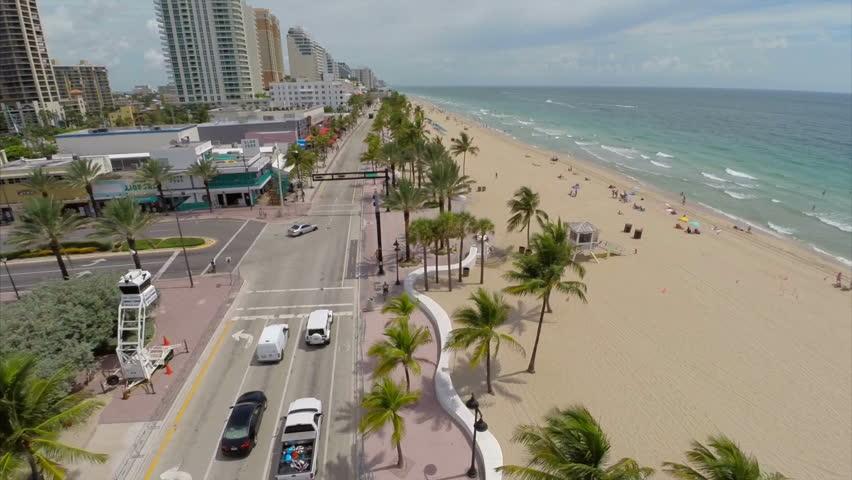 Aerial video of Fort Lauderdale    Shutterstock HD Video #6781183