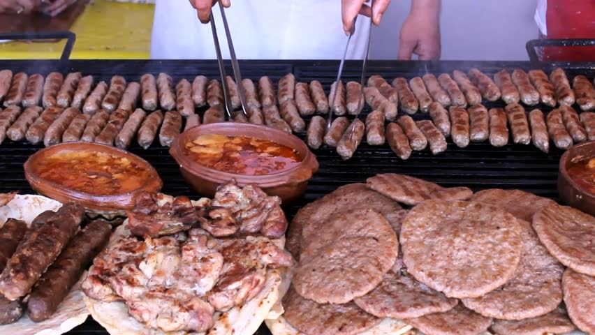 Grill meat barbecue | Shutterstock HD Video #6877018