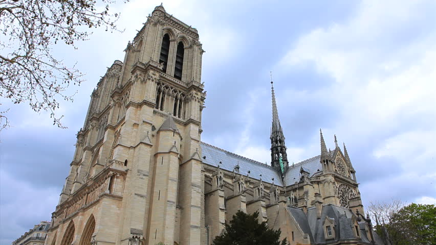 Notre Dame Cathedral. Paris, France. | Shutterstock HD Video #6941761