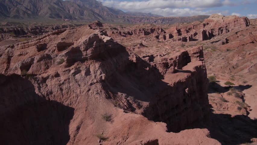 """Flight in """"Quebrada de las Conchas"""", Cafayate, Argentina   Shutterstock HD Video #6964420"""