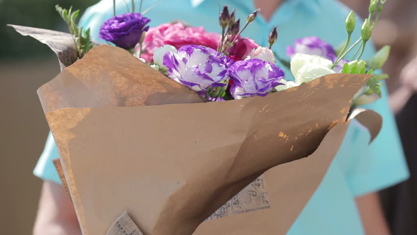 Give flowers to bride that she gives to her friend | Shutterstock HD Video #7004962