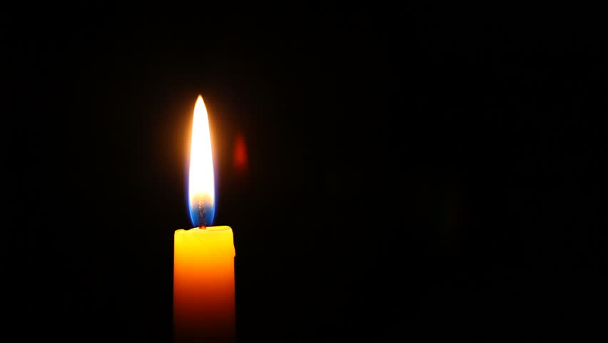 HD 1080p - Candle in high definition, much copyspace for own text #712141