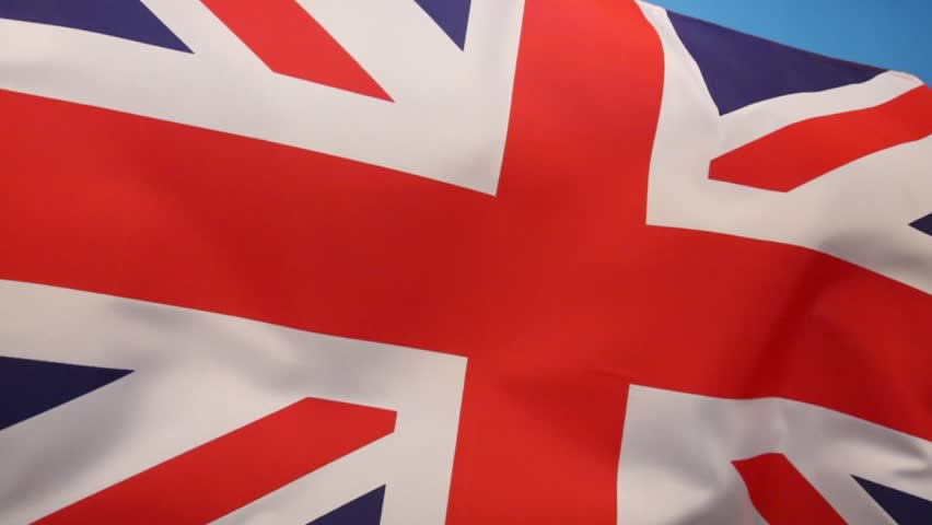 The flag of the United Kingdom of Great Britain and Northern Ireland. (The Union Flag)   Shutterstock HD Video #7166530