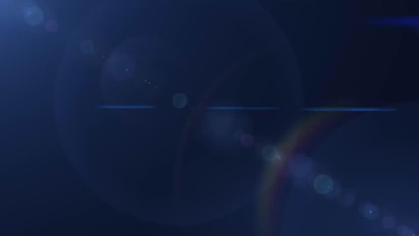 Lens flare blue background | Shutterstock HD Video #7219981