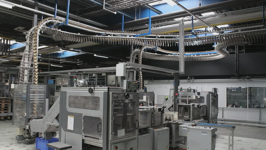 Production hall of a rotary printing #7221691