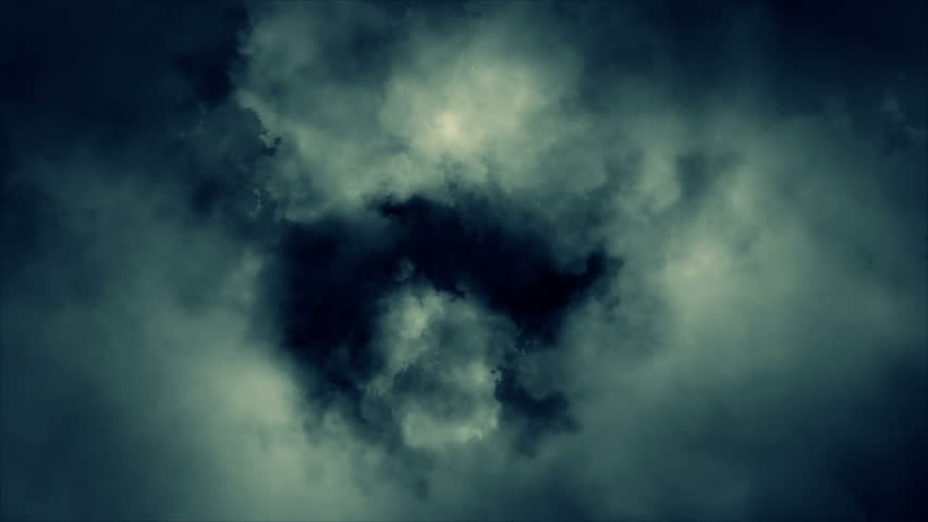 Abstract cloud animation HD stock footage. An animation of thick clouds changing shape over a short period of time.  | Shutterstock HD Video #7261375