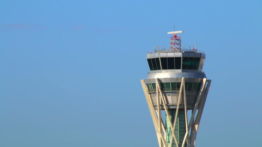 Barcelona Airport Control Tower.