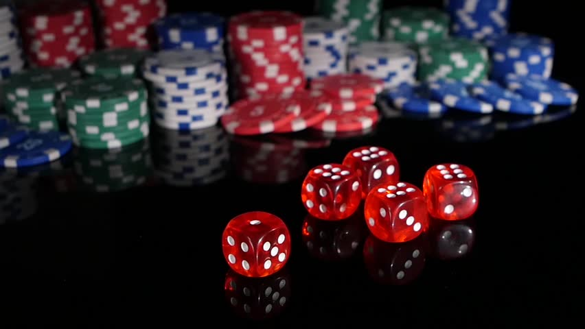 Throwing Red Dice On the Stock Footage Video (100% Royalty-free) 7322812 |  Shutterstock