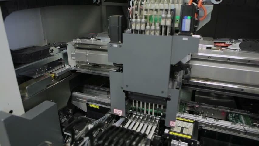 Producing Printed Circut Board | Shutterstock HD Video #7429924