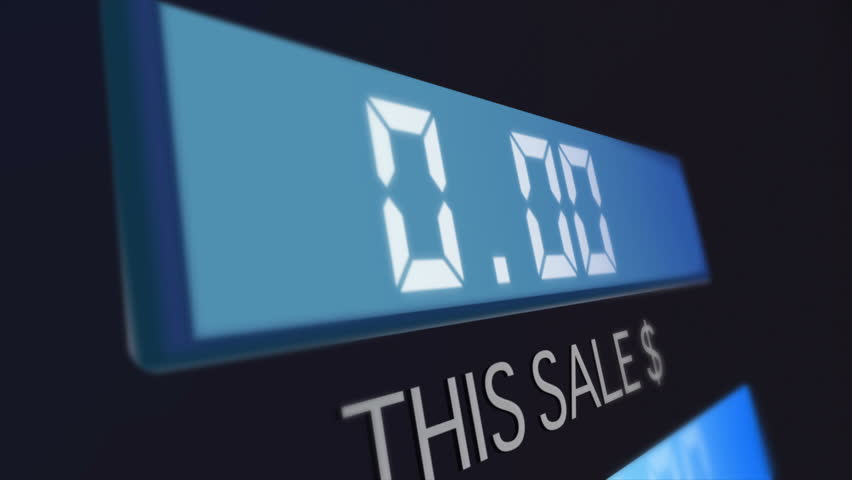 The high price of oil and feeling it at the gas station. Good shot for fuel costs or petroleum prices. | Shutterstock HD Video #7446664