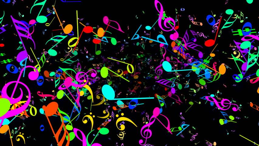 Music Notes. : Video de stock (totalmente libre de regalías ...