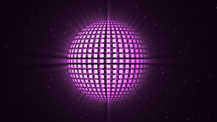 Disco ball vector animating Loopable #7630513