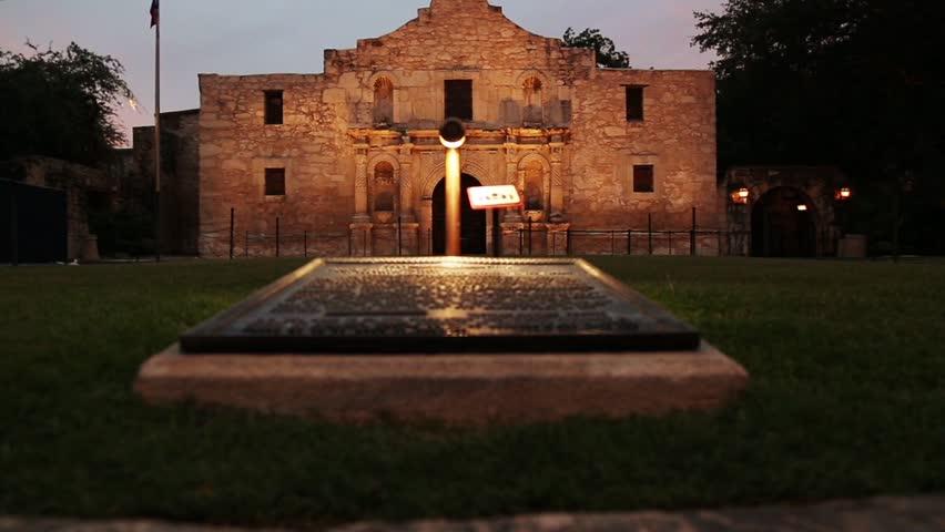 The Alamo Slider Scenic