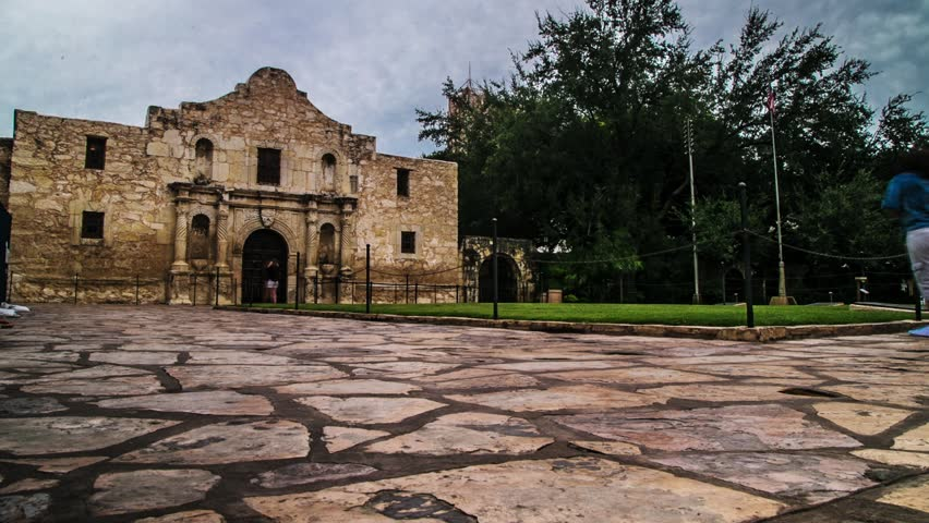 Alamo at dawn (day to night) Motion Controlled Timelapse