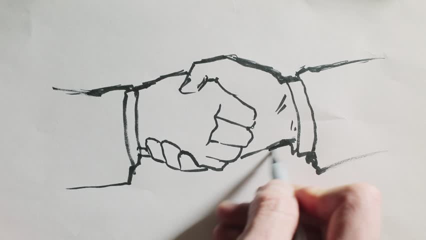 Hand Drawing 2d Animation In Stock Footage Video 100 Royalty Free 7643059 Shutterstock