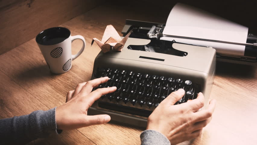 My Old Typewriter Back for Stock Footage Video (100% Royalty-free) 7696909    Shutterstock