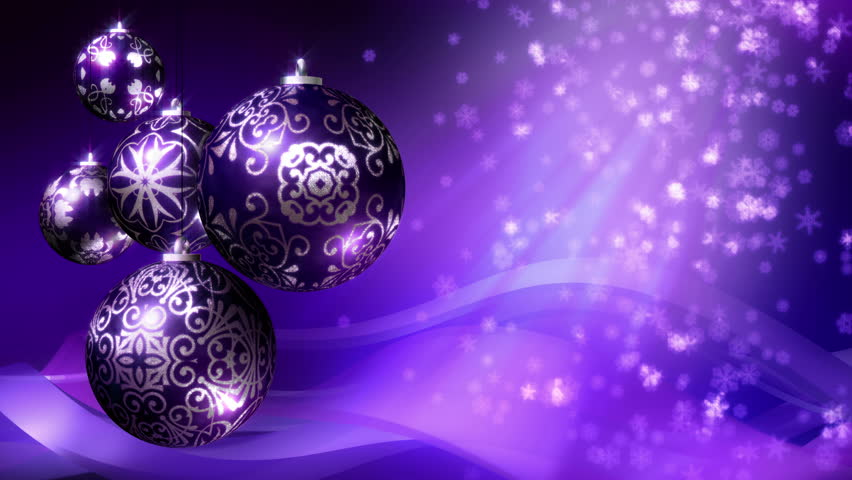 Purple And Silver Christmas Decorations  from ak.picdn.net