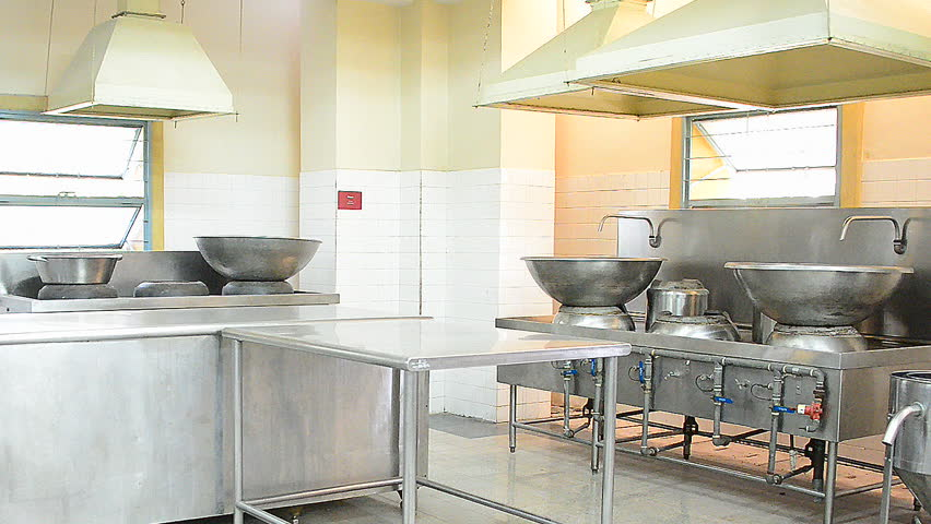 Zoom Out Main Kitchen In Stock Footage Video 100 Royalty Free 7739866 Shutterstock