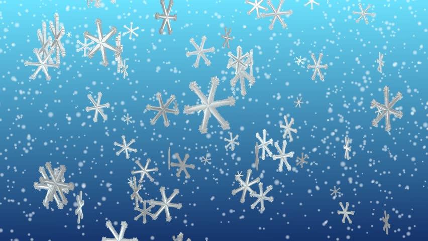 летят снежинки картинка подробную инструкцию