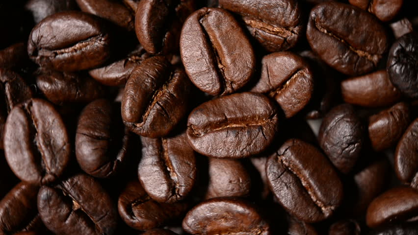 Close up shot of roasted coffee beans  | Shutterstock HD Video #7829842