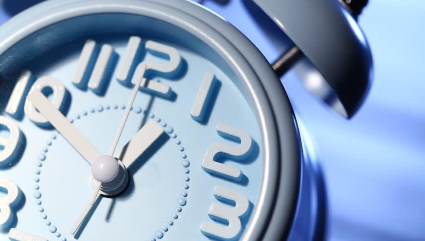 Close-up of a domestic clock