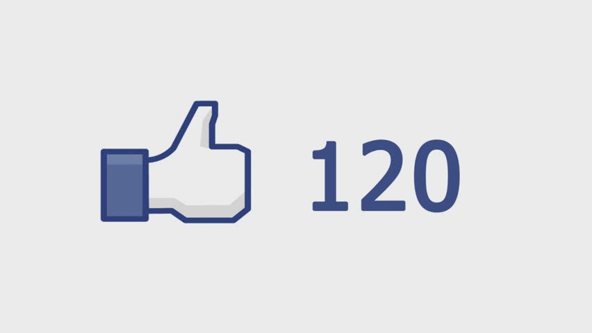 """CRIMEA, UKRAINE, JANUARY 21, 2014: Facebook concept """"Like button"""" with numbers on social network. Facebook is the most popular online social networking service in the world."""