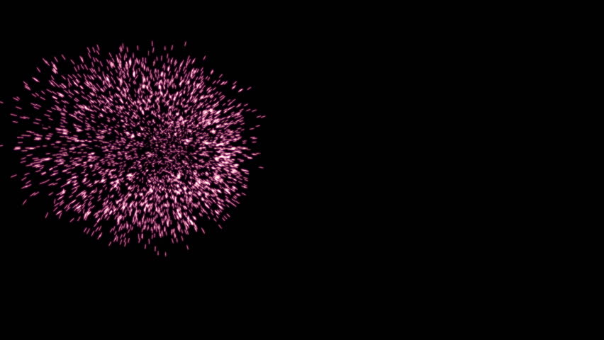 Five seconds of celebration fireworks 4k | Shutterstock HD Video #7904134