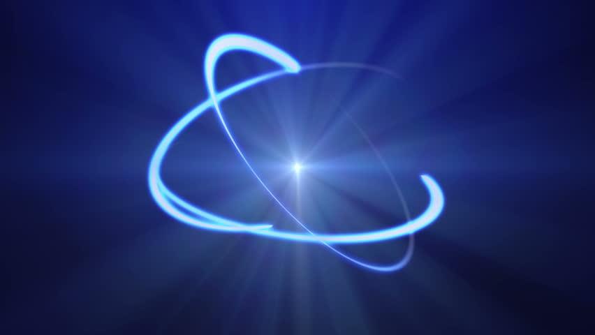 Atom animated loop 4k | Shutterstock HD Video #7904218