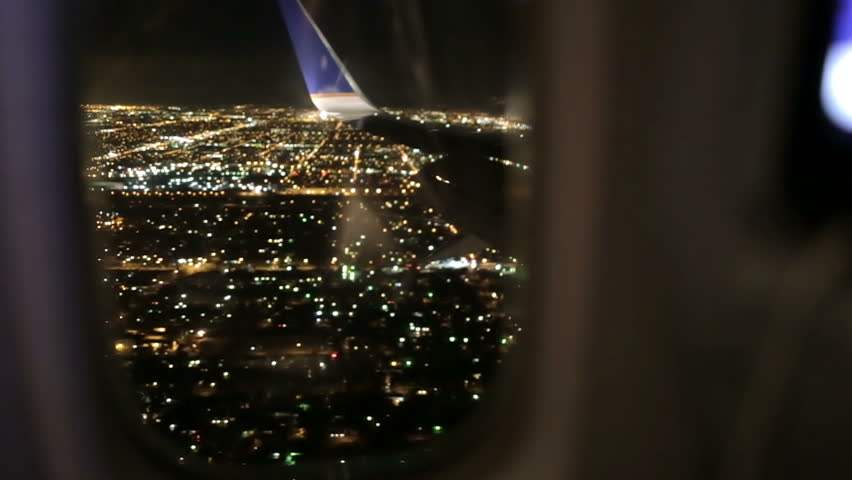 Airplane Window Seat View Stock Footage Video 100 Royalty Free