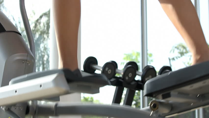 Spinning exercise  at gym | Shutterstock HD Video #7990810