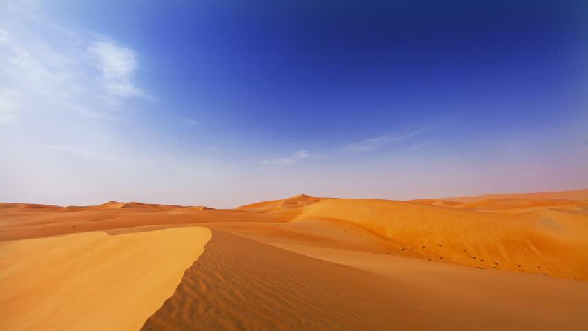 Abu Dhabi Desert Timelapse