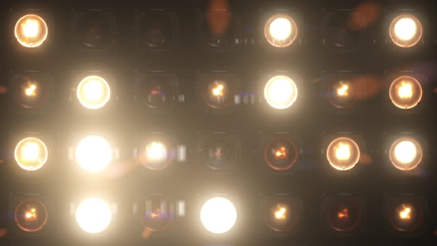 VJ Lights Flashing Spotlight Wall stage led blinder blinking chromlech club concert dance disco dj matrix beam dmx fashion floodlight halogen headlamp jarag lamp  night club party pub showtec vj loop    Shutterstock HD Video #8104573