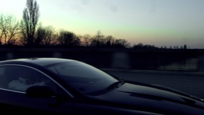 Aston Martin in London. Dusk | Shutterstock HD Video #8119798