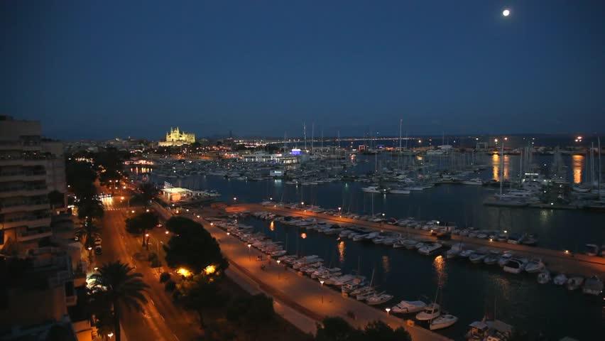 Cathedral of la Seu Majorca in Palma de Mallorca   Shutterstock HD Video #8158429
