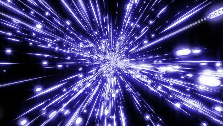 Crystal stars space blue 4k   Shutterstock HD Video #8390809