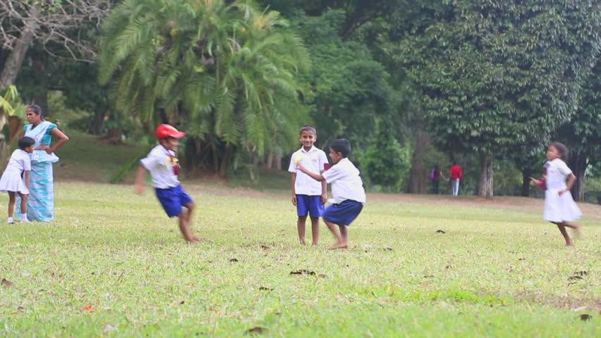School girls Kandy Sri Lanka 3697 Stock Photo - Alamy
