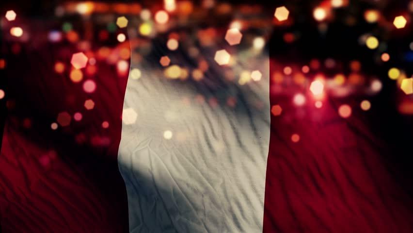 Peru Flag Light Night Bokeh Stock Footage Video 100 Royalty Free 8423515 Shutterstock