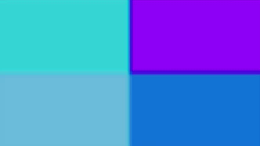 Colors: I began with 4 colored rectangles, and mixed them up a bit. | Shutterstock HD Video #8490622
