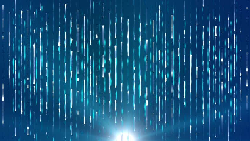 Fantasy abstract motion blue background shining star lights and particles | Shutterstock HD Video #8534599