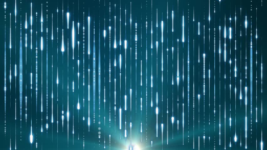 Fantasy abstract motion blue background shining star lights and particles | Shutterstock HD Video #8534602