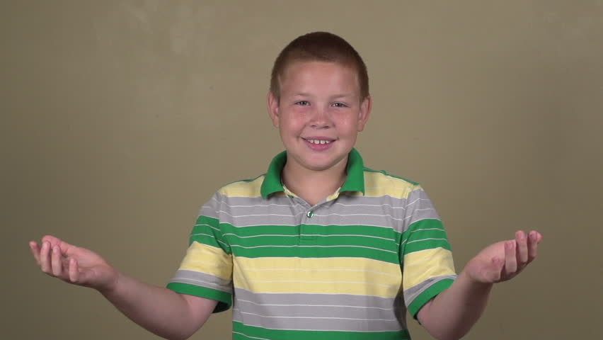 Money falling onto boy with arms open slow motion | Shutterstock HD Video #8537758
